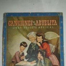 Libros antiguos: CANCIONES DE LA ABUELA - RAMON SOPENA. Lote 113284567
