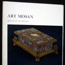 Libros antiguos: ART MOSAN DES XII ET XII SIECLES. L´ART EN BELGIQUE. CON 50 LAMINAS. Lote 41256246