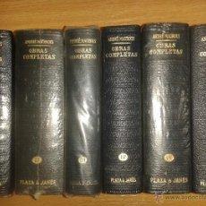 Libros antiguos: OBRAS COMPMPLETAS DE ANDRE MAUROIS PLAZA JANES. Lote 41261433