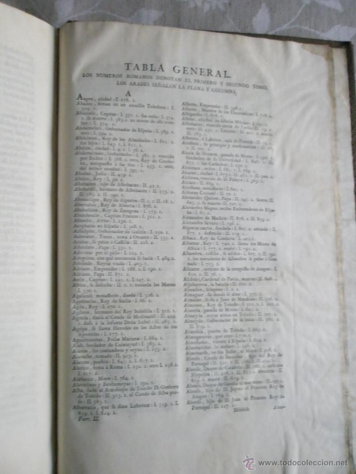 Libros antiguos: HISTORIA GENERAL DE ESPAÑA. COMPUESTA, ENMENDADADA Y AÑADIDA POR EL PADRE JUAN DE MARIANA DE LA COMP - Foto 9 - 41268603