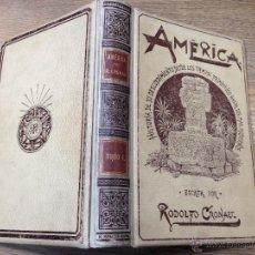 Libros antiguos: AMERICA - HISTORIA DE SU DESCUBRIMIENTO - RODOLFO CRONAU - TOMO I - AÑO 1892. Lote 41280907