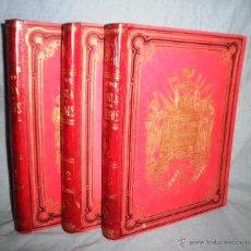 Libros antiguos: REVOLUCION FRANCESA · HISTORIA DE LOS GIRONDINOS - LAMARTINE - AÑO 1888.LUJOSA EDICION ILUSTRADA.. Lote 41283735