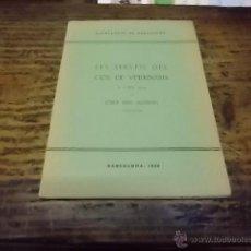 Libros antiguos: 3046.- VETERINARIA-ELS SERVEIS DEL COS DE VETERINÀRIA A L`ANY 1934-JOSEP MAS ALEMANY. Lote 41305052