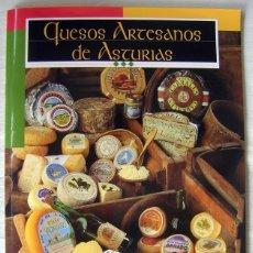 Libros antiguos: LIBRO-REVISTA QUESOS ARTESANOS DE ASTURIAS, DE PUBLICIDAD.. Lote 41320084