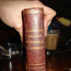 Livres anciens: GUERRA DE CATALUNYA POR FRANCISCO MANUEL DE MELO, TOMO I Y II - CAMPOAMOR, POESÍAS ESCOGIDAS.. Lote 41336878