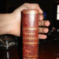 Libros antiguos: LAS CUATRO ÉPOCAS ( SOULIÉ ) - BALZAC - TESORO DE LA POESÍA CASTELLANA S. XV. Lote 41337000