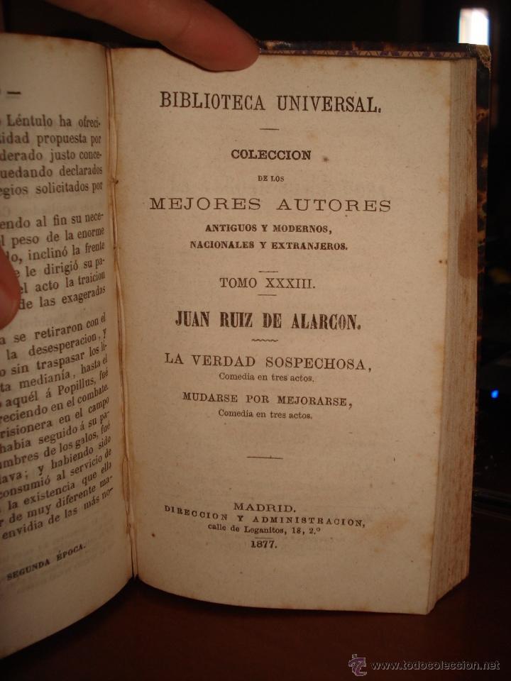 Libros antiguos: obras de santa Teresa - las cuatro épocas segundo tomo - Juan ruiz de Alarcon - Foto 4 - 41337116