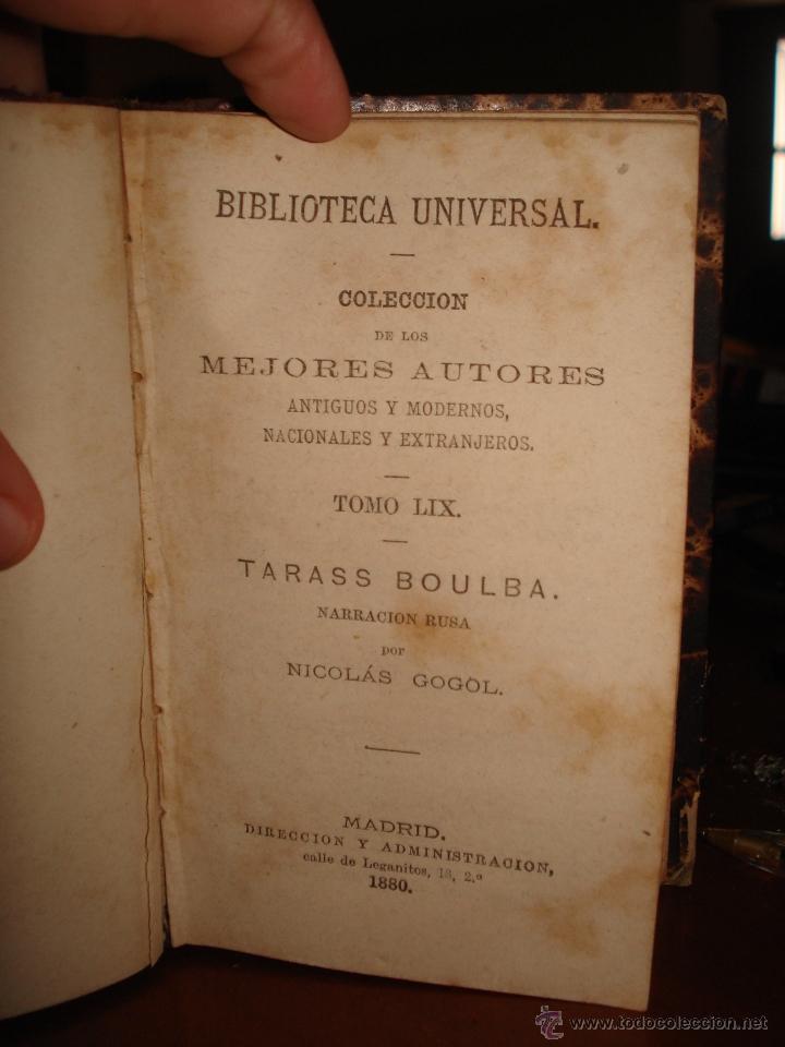 Libros antiguos: escritoras españolas contemporaneas - Tarass Boulba - poetas americanos - Foto 3 - 41337159