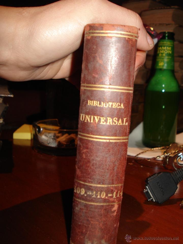 BIBLIOTECA UNIVERSAL, 1881, FAUSTO , R. VEGA Y A. HIDALGO DE MOBELLAU (Libros antiguos (hasta 1936), raros y curiosos - Literatura - Narrativa - Otros)