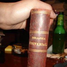 Libros antiguos: BIBLIOTECA UNIVERSAL, 1881, FAUSTO , R. VEGA Y A. HIDALGO DE MOBELLAU. Lote 41354431