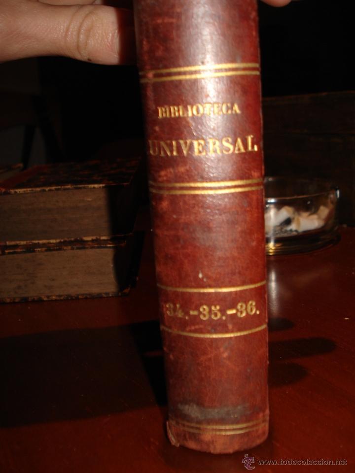 BIBLIOTECA UNIVERSAL 1881, QUEVEDO , DON RAMON DE LA CRUZ , FRAY LUIS LEON (Libros antiguos (hasta 1936), raros y curiosos - Literatura - Narrativa - Otros)