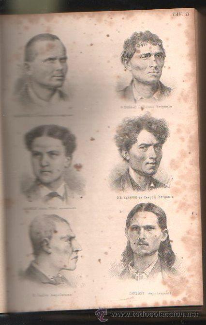 Libros antiguos: LUOMO DELINQUENTE POR EL PROF. CESARE LOMBROSO. FRATELLI BOCCA. ROMA TORINO FIRENZE 1878 - Foto 7 - 26532069