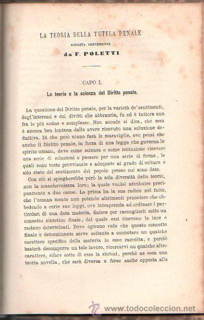 Libros antiguos: LUOMO DELINQUENTE POR EL PROF. CESARE LOMBROSO. FRATELLI BOCCA. ROMA TORINO FIRENZE 1878 - Foto 16 - 26532069