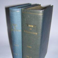 Libros antiguos: 1879 - FABIE - VIDA Y ESCRITOS DE FRAY BARTOLOME DE LAS CASAS, OBISPO DE CHIAPAS - 2 TOMOS. Lote 41401541