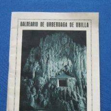 Libros antiguos: BALNEARIO DE URBERUAGA DE UBILLA - MARQUINA - VIZCAYA - 1928. Lote 41441082