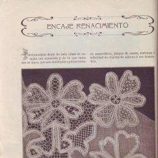 Libros antiguos: ARO, SRTA. X. DEL: INSTRUCCIONES PARA BORDAR CON LA MAQUINA SINGER PARA COSER. 1911. Lote 41459488