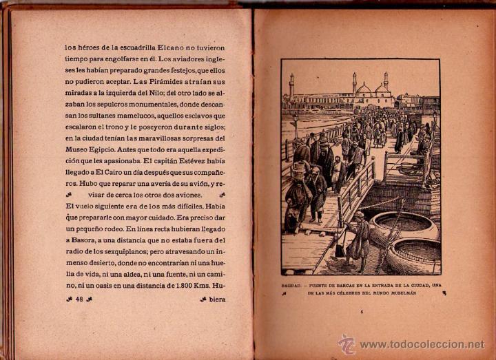Libros antiguos: LA ESCUADRILLA DE ELCANO - LIBROS DE EPOPEYA - EDITORIAL F.T.D. - 1926 - Foto 3 - 41558230