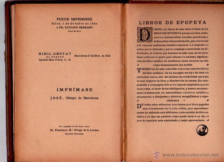 Libros antiguos: LA ESCUADRILLA DE ELCANO - LIBROS DE EPOPEYA - EDITORIAL F.T.D. - 1926 - Foto 4 - 41558230