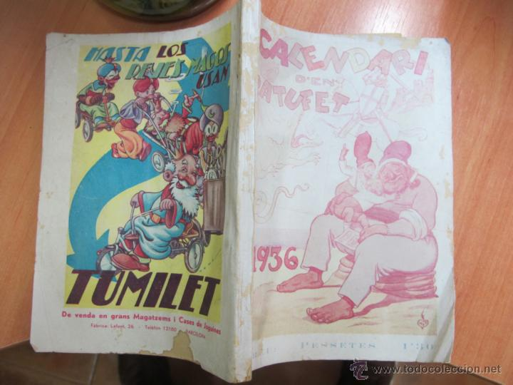 CALENDARI D´EN PATUFET ANY 1936 (Libros Antiguos, Raros y Curiosos - Literatura Infantil y Juvenil - Otros)
