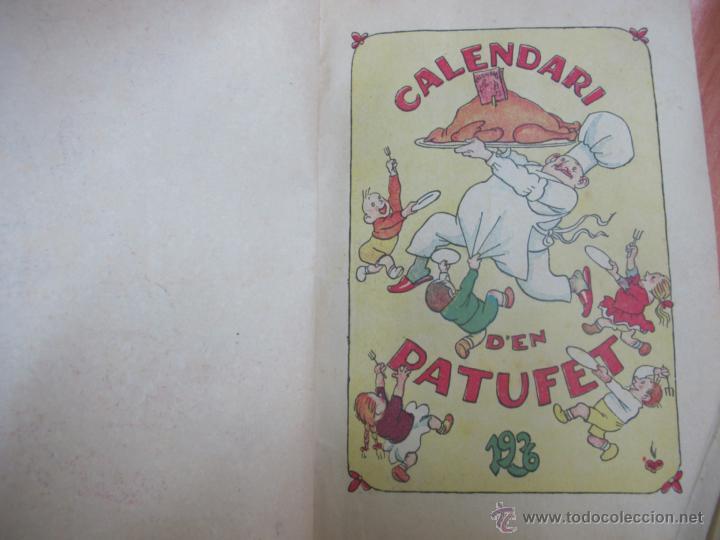Libros antiguos: CALENDARI D´EN PATUFET ANY 1936 - Foto 2 - 41564606