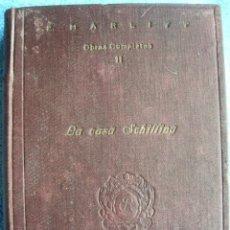 Libros antiguos: LA CASA SCHILLING - EUGENIA MARLITT. EDT. RIVADENEYRA, 1922. LIBRO RARO ( MUY BUEN ESTADO ).. Lote 41623061