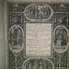 Libros antiguos: ARIAS MONTANO,B.; BRY, J.T. DE; BRY. J.I. DE: DAVID. VIRTUTIS EXERCITA…1597. Lote 41630695
