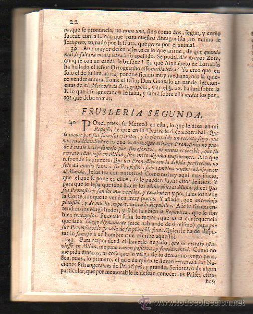 Libros antiguos: BELEROFONTE LITERARIO Y RESPUESTA APOLOGETICA A EN PAPEL INTITULADO. SERRANO. MAÑER. 1729. - Foto 4 - 41664643