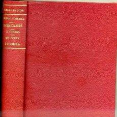 Libros antiguos: COSTA I LLOBERA : HORACIANES I BIOGRAFÍA PER BARTOMEU TORRES (MALLORCA, 1936). Lote 41690342