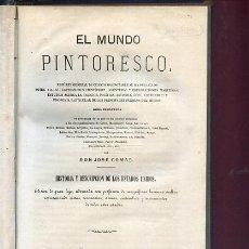 Libros antiguos: COMAS,JOSE,,HISTORIA Y DESCRIPCION DE LOS ESTADOS UNIDOS,1868. Lote 26181221