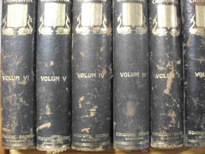 Libros antiguos: HISTORIA NACIONAL DE CATALUNyA 1922 ROVIRA I VIRGILI ED. PATRIA - 6 TOMOS - Foto 5 - 41746742