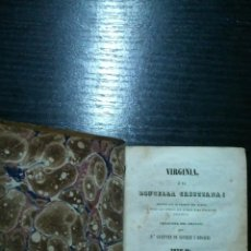 Libros antiguos: LIBRO ANTIGUO DE 1857. VIRGINIA O LA DONCELLA CRISTIANA. TOMO II.. Lote 41759671