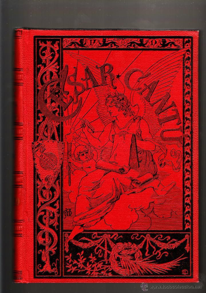 HISTORIA UNIVERSAL POR CÉSAR CANTÚ TOMO DÉCIMO BARCELONA J. ROMÁ (Libros Antiguos, Raros y Curiosos - Historia - Otros)