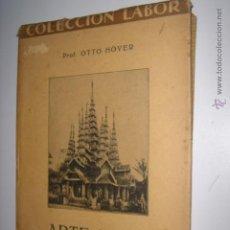 Libros antiguos: ARTE INDIO. OTTO HOVER. Nº125. COLECCION LABOR. SECCION IV. 1927. MIDE: 18,7 X 12,7 CMS.. Lote 41812547