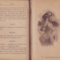 Libros antiguos: WILDE, OSCAR: SALOME / GRAU, JACINTO: EL BURLADOR QUE NO SE BURLA.. Lote 41909429