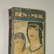 Libros antiguos: BEN HUR - LEWIS WALLACE. BIBLIOTECA PERLA DE CALLEJA.. Lote 42057746