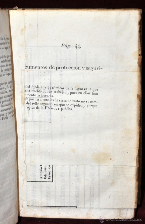 Libros antiguos: LIBRO DE PRACTICA DE SECRETARIOS DE AYUNTAMIENTO. IMPRENTA Y LIBRERIA DE SANZ 1843 - Foto 5 - 42103297