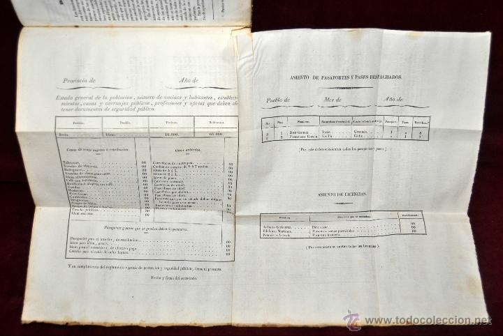 Libros antiguos: LIBRO DE PRACTICA DE SECRETARIOS DE AYUNTAMIENTO. IMPRENTA Y LIBRERIA DE SANZ 1843 - Foto 7 - 42103297