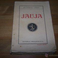 Libros antiguos: JAUJA. RICARDO LEÓN.. Lote 42108441