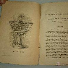 Libros antiguos: PECERAS ACUARIOS. RARO. 1863 GRABADOS. TRATADO DEL PRINCIPIO VITAL EN LAS REGIONES ACUÁTICAS. Lote 42135515