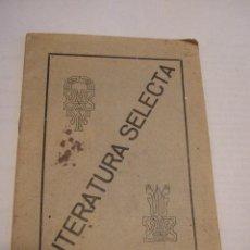 Libros antiguos: PUBLICACION LITERATURA SELECTA - LA VIDA EN LOS SUBMARINOS - 1927 - H G WELLS - LABORATORIO BESOY -. Lote 42184657