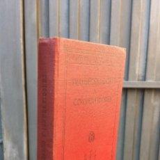 Alte Bücher - 1934.- TRANSFORMADORES Y CONVERTIDORES. ESPASA CALPE. ILUSTRADO - 42198888