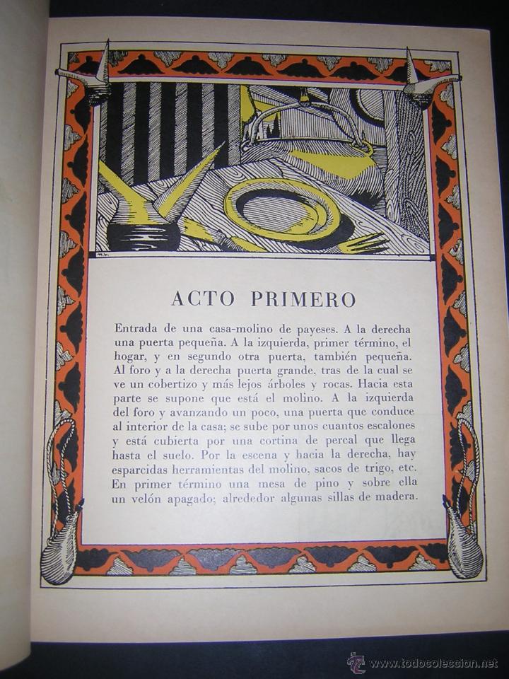 Libros antiguos: 1930 - ANGEL GUIMERÁ - TIERRA BAJA, ILUSTRADO POR MAURICIO DE VASSAL - BIBLIOFILIA - Foto 3 - 42243247