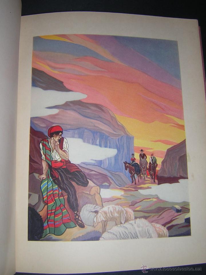 Libros antiguos: 1930 - ANGEL GUIMERÁ - TIERRA BAJA, ILUSTRADO POR MAURICIO DE VASSAL - BIBLIOFILIA - Foto 4 - 42243247