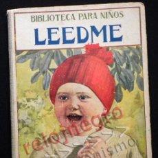 Libros antiguos: ANTIGUO LIBRO LEEDME - BIBLIOTECA PARA NIÑOS PRECIOSAS ILUSTRACIONES 1936 SOPENA CUENTO POESÍA JOYA. Lote 42292582