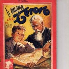 Libros antiguos: EL ENIGMA DEL TESORO POR QUILLER COUCH-COLECCIÓN GRANDES AUTORES Nº 15. Lote 42305104