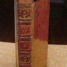 Libros antiguos: VIE DU CAPITAINE COOK, PRIMER TOMO, AÑO 1789, PARIS, KIPPIS, M. CASTERA, EN FRANCÉS, 389 PÁGINAS. Lote 42305843
