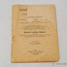 Libros antiguos: SISTEMA MÉTRICO DECIMAL DE PESAS, MEDIDAS Y MONEDAS DE FILIPINAS. MADRID 1908. . Lote 42354863