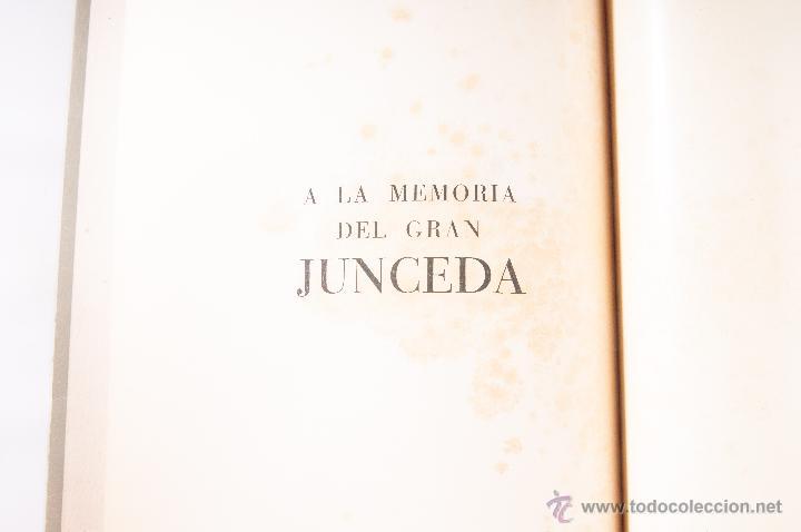 Libros antiguos: LIBRO A LA MEMORIA DEL GRAN JUNCEDA - Foto 3 - 42356743