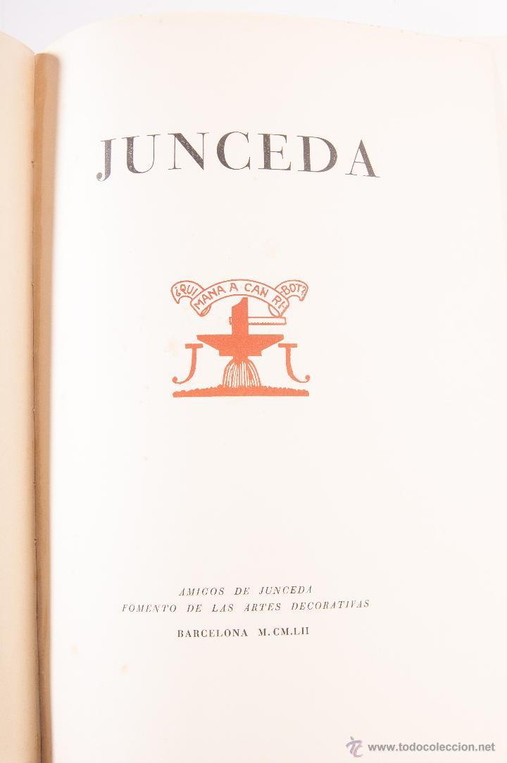 Libros antiguos: LIBRO A LA MEMORIA DEL GRAN JUNCEDA - Foto 4 - 42356743