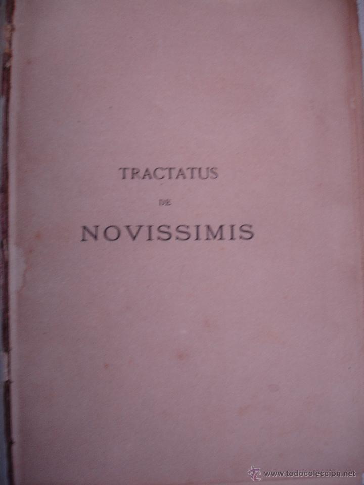 Libros antiguos: institutiones THEOLOGIA SCHOLASTICA DOGMATICA thomae aquinatis DOS TOMOS 1897 - Foto 10 - 33472756